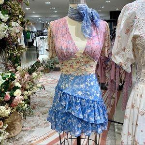 LoveShackFancy bea dress size 4 Xs-S